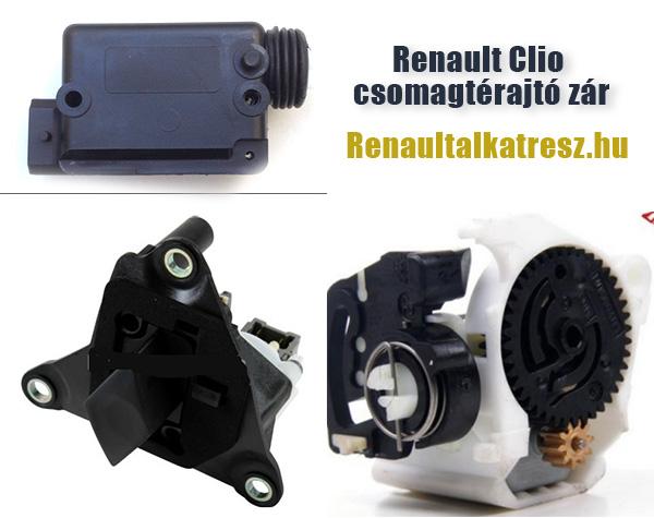 Renault Clio csomagtérajtó zár
