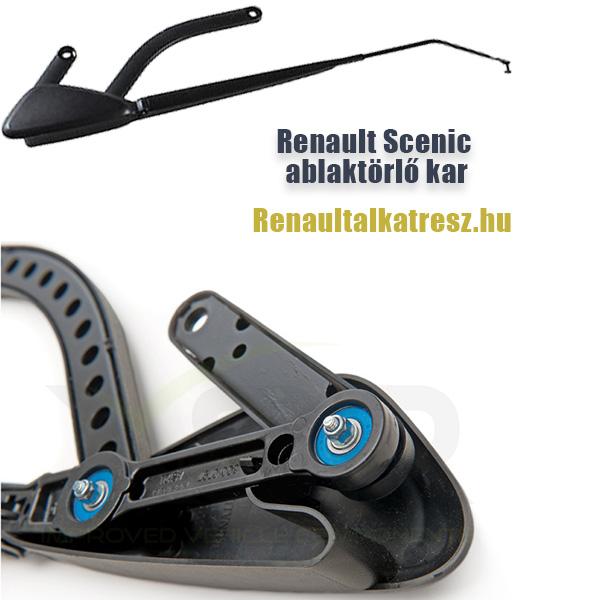 Renault Scenic ablaktörlő kar